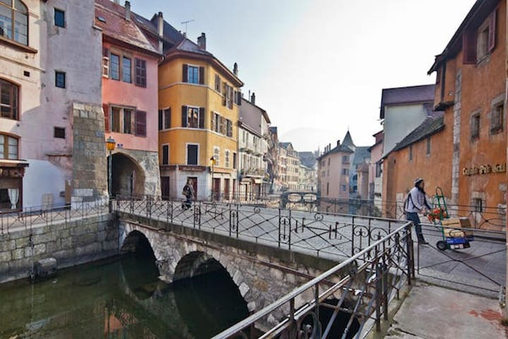 Newly refurbished STUDIO Old Town Annecy - 阿訥西 - 公寓