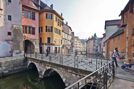 Newly refurbished STUDIO Old Town Annecy - 안시 - 아파트