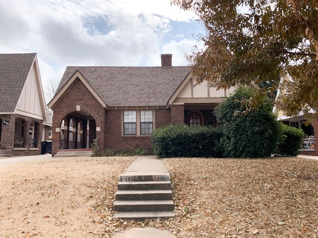 Peaceful Gatewood home in the heart of OKC