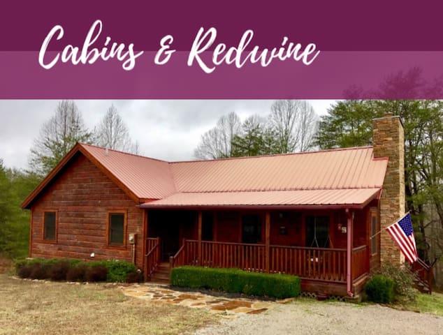 Cabins & Redwine - Spencer - Casa de campo