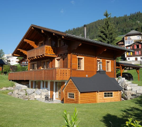 Chalet close to ski lifts and town centre - Leysin - Chatka w górach