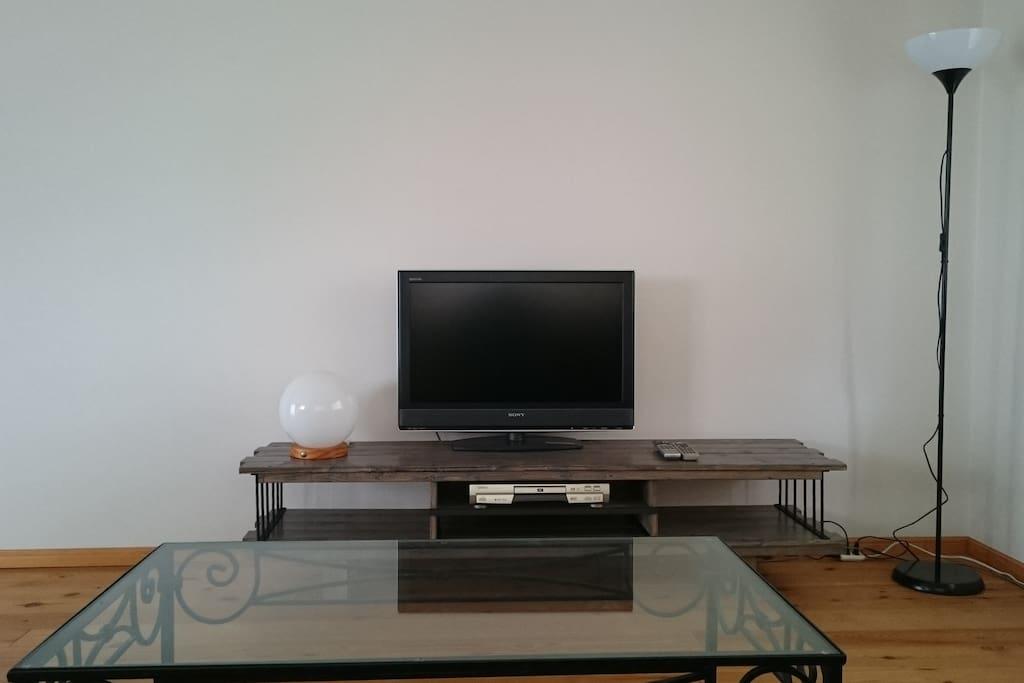 TV (CS.CATV.地デジ対応) ソファーから見たTV