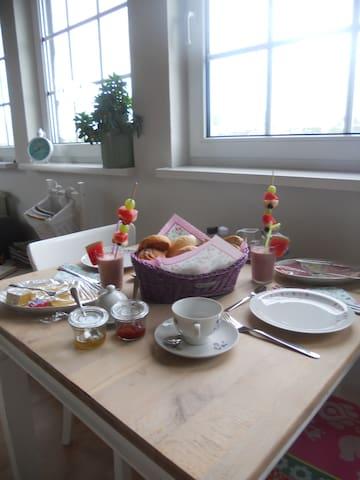 voorbeeld van een ontbijt