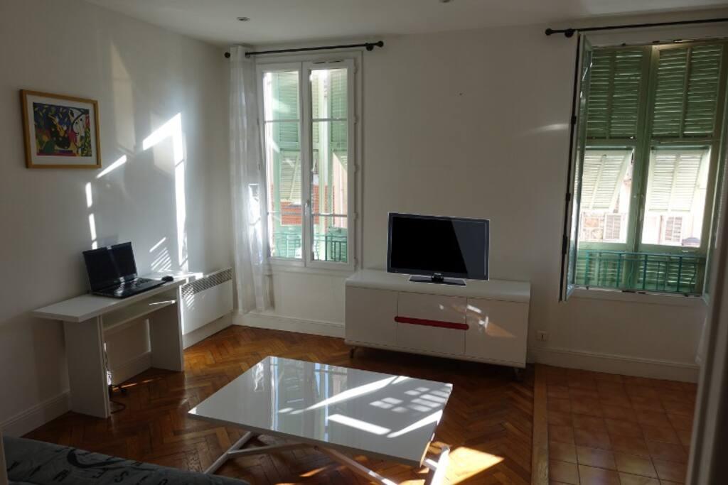 Appartement lumineux et parfaitement équipé