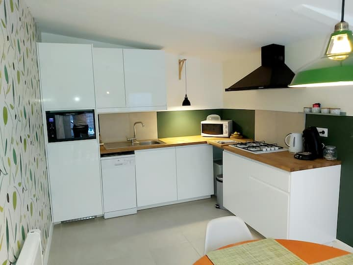 Le nid d'Arras, 2 chambres au vert à  Achicourt