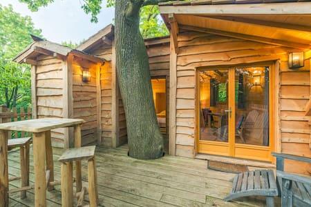 Cabane Cime pour 2 personnes - Raray - 树屋