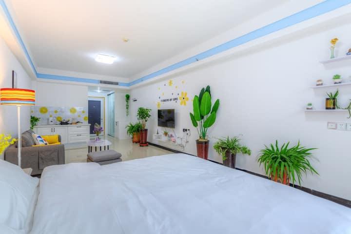 【向阳公寓】滨河路/有暖气/清新小屋