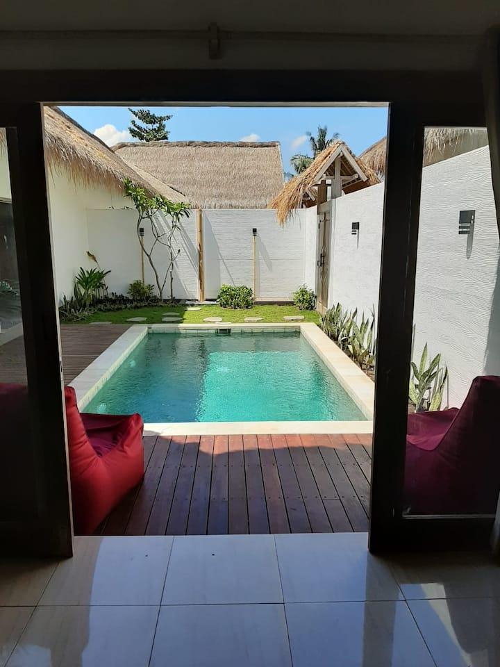 New Luxury 2 BR Private Pool Villa - Gili Air