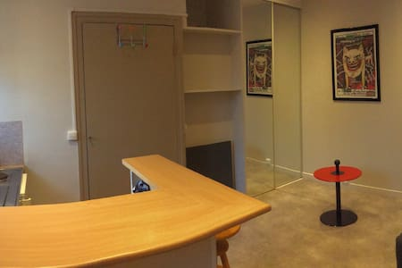 Studio indépendant meublé central - Pau