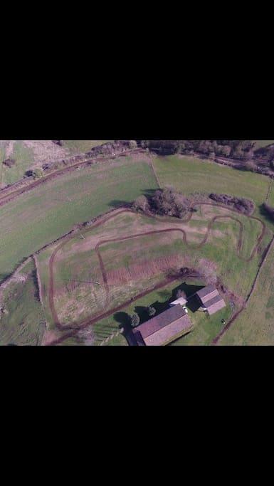 Vista dal drone