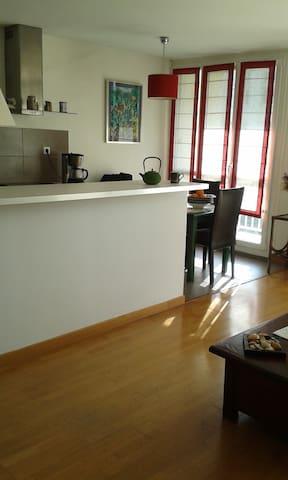 Bel appart proche Paris/Versailles - Chilly-Mazarin - Apartamento