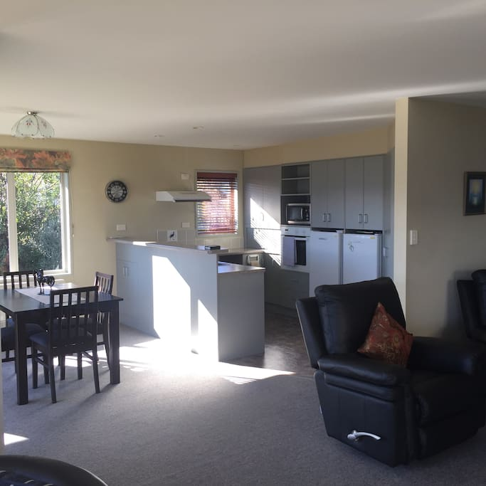 Large kitchen - bright and sunny