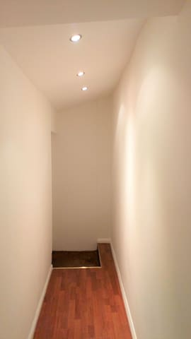 Your private hallway... Pretend you are on a catwalk