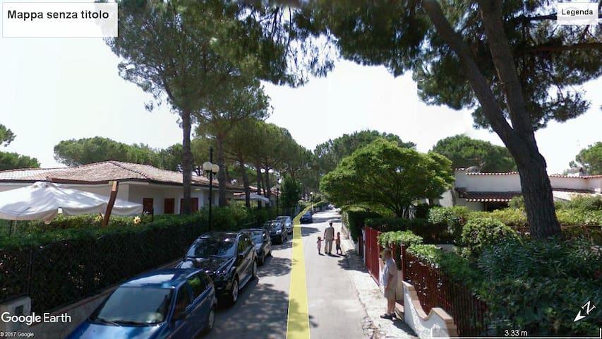 Villa/Appartamento intero al mare Baia Domizia