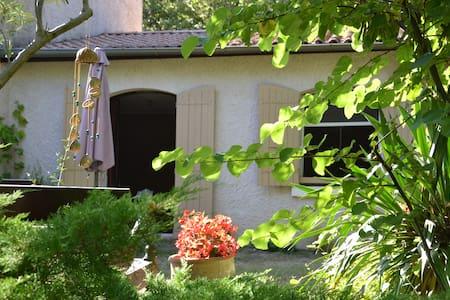 Spacieux studio de 50 m2 dans splendide propriété - Donzère