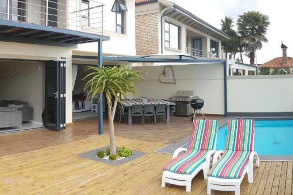 Deck and Pool area