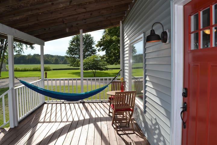 Front Porch with Hammock