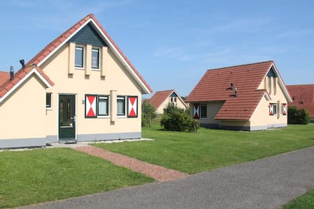 Een bungalow op de Drentse hooglanden