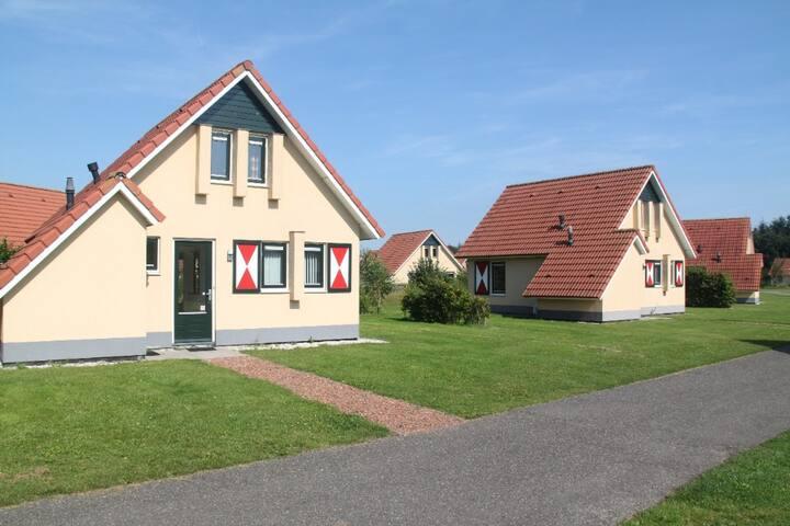 Een corona proof bungalow op de Drentse hooglanden