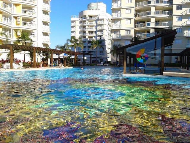 Lindo apartamento na praia 604 - Penha