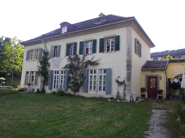 charmantes chambres d'hôtes dans maison de maître - La Chaux-de-Fonds - อพาร์ทเมนท์