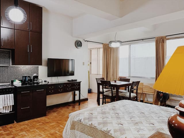 Spacious Studio Unit in the heart of Greenhills