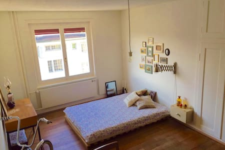 Charming room next to Langstrasse - Curych
