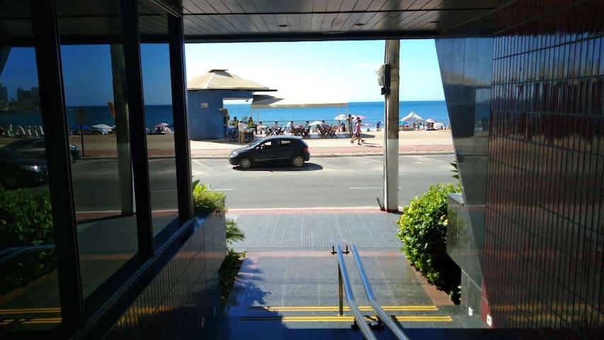 Guarapari - Praia do Morro - Na beira da praia!