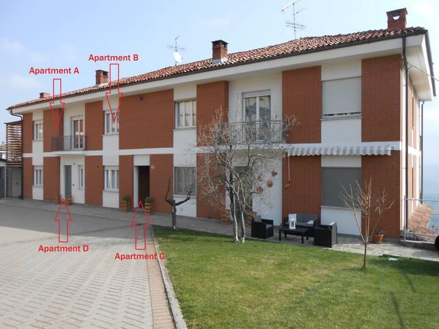 4 apartment in the hearth of La Morra