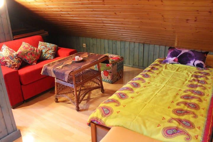 Cozy attic place - Varaždin - Casa