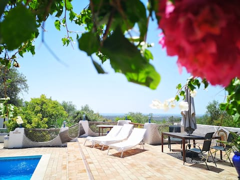 Casa Azul - Private and quiet villa with sea view.