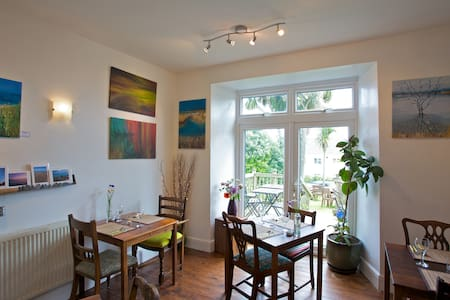 Bell Heather Double Room at Coast B&B - Carbis Bay - Bed & Breakfast - 2