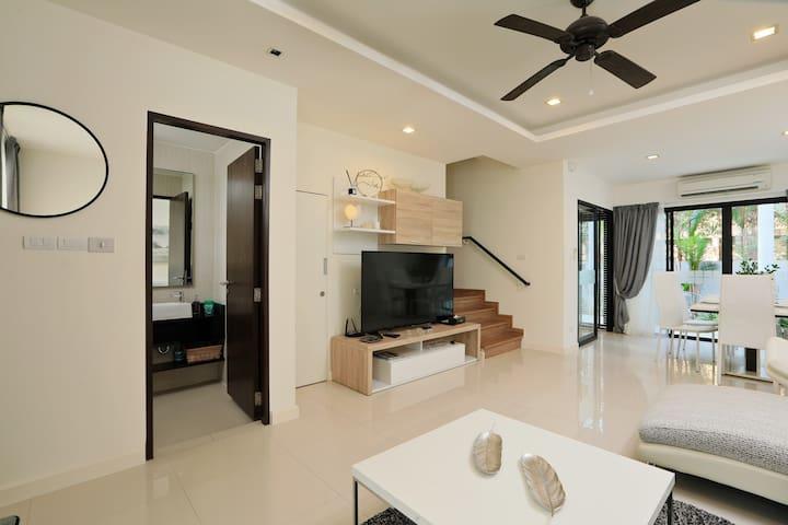 Modern WHITE HOUSE in Laguna Park by GetYourPhuket