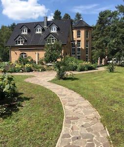 Penthouse Bernd im Waldschlösschen direkt am See