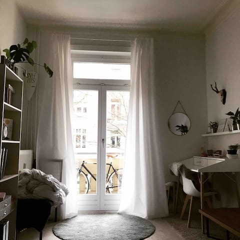 Nice Apartment right between Alster and Stadtpark.