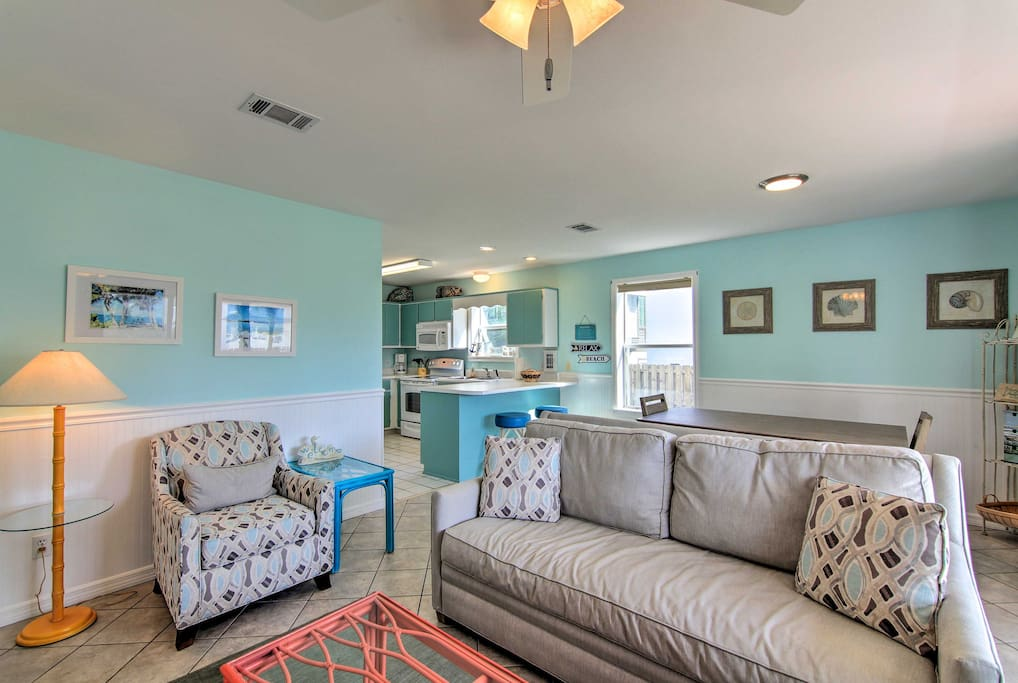 Relax in the comfortable and spacious living room.