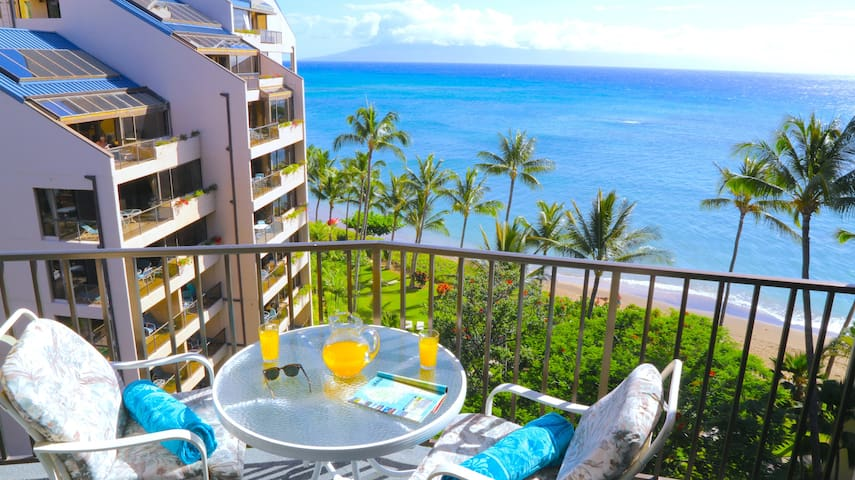 Spring Special-Beachfront Valley Isle Resort Condo With Amazing Ocean Views - Lahaina - House