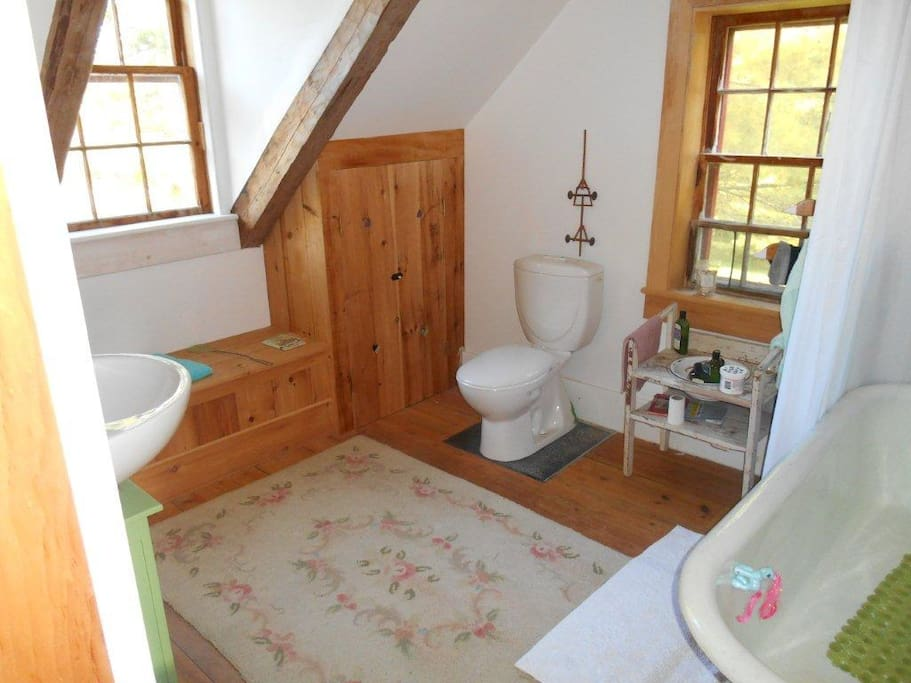 newly renovated bathroom for modern convenience