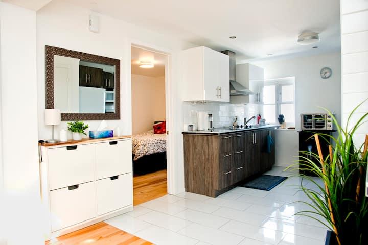 Magnifique appartement au coeur du Vieux-Québec!