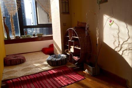 young artist 100 的客厅好沙发 - Shenzhen - Appartement