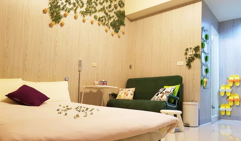 GreenTaipei☺No deposit & No cleaning fee required - Zhongshan District - Haus