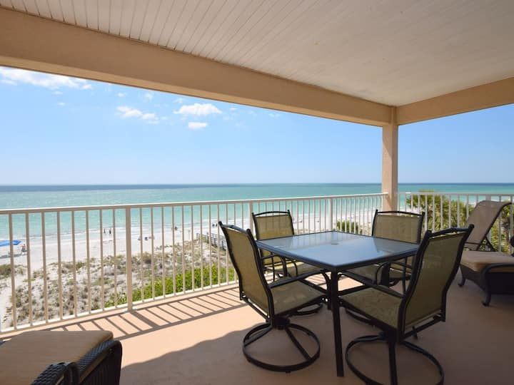 Beach front at Ocean Way unit 404 Penthouse 2/2