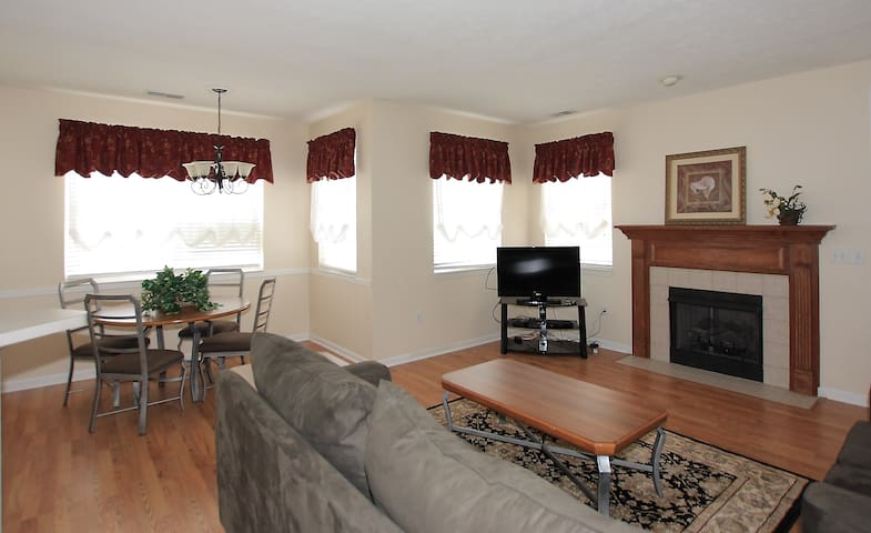 Stylish Condo - No Stairs w/ Direct Access to I-79