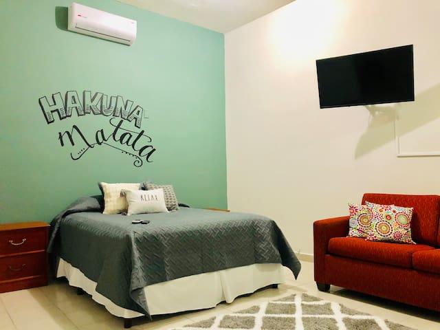Céntrico, Precioso y cómodo loft para descansar