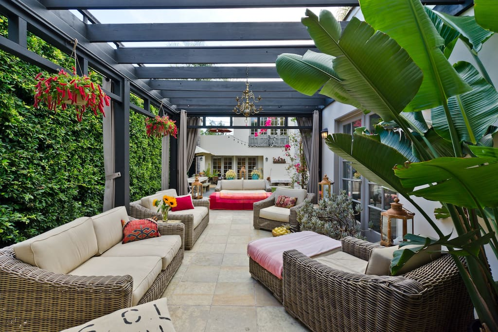 European Designer Hollywood Oasis In Los Angeles Houses For Rent In Los Angeles California