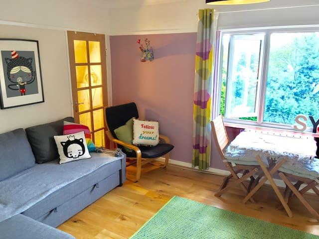 A gorgeous flat in leafy Sevenoaks