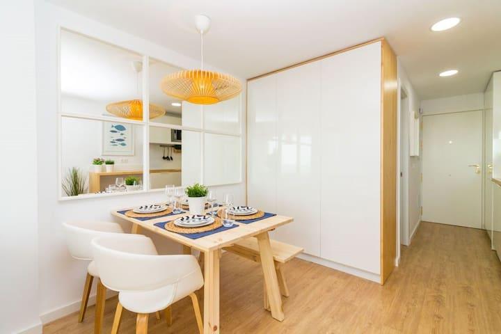 Apartamento Costa del Sol. Málaga . Vistas al Mar