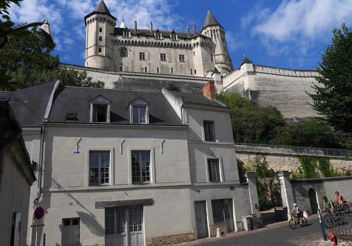 Vaste duplex aux pieds du château de Saumur