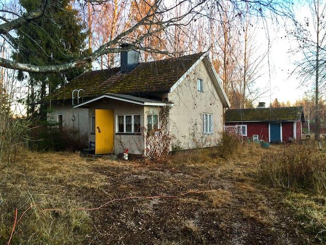 Уютный дом в финской деревне. - Ruokolahti - Huis