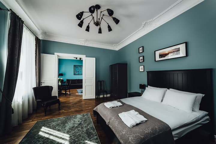 Suite Baskerville in Sherlock Art Hotel 63 sqm